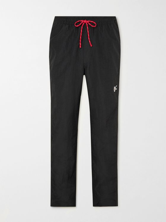 DISTRICT VISION Kenia Slim-Fit Shell Sweatpants