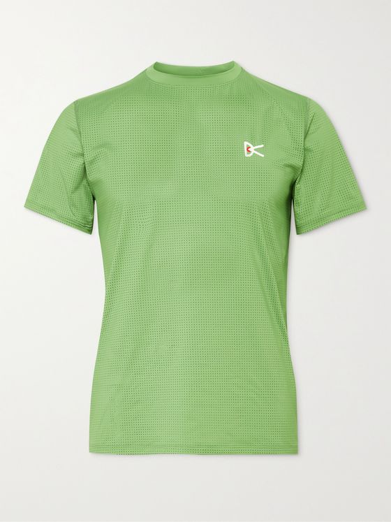 DISTRICT VISION Slim-Fit Peace-Tech Mesh T-Shirt