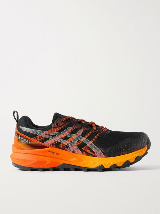 ASICS GEL-Trabuco 9 G-TX Rubber-Trimmed GORE-TEX Mesh Sneakers