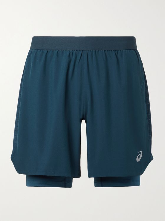 ASICS Road Stretch-Shell Shorts