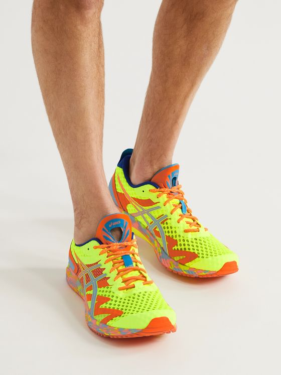 ASICS Gel-Noosa Tri 12 Rubber-Trimmed Mesh Running Sneakers