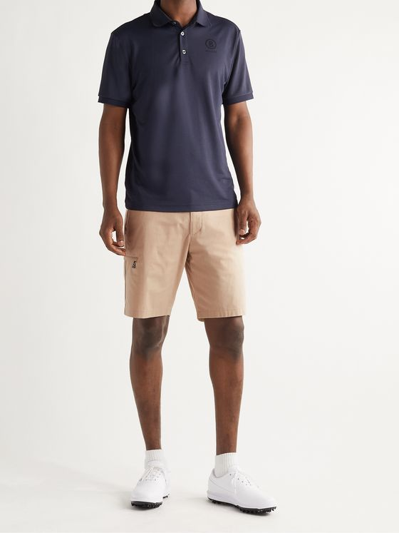 Bogner Benn Stretch-Cotton Twill Golf Shorts