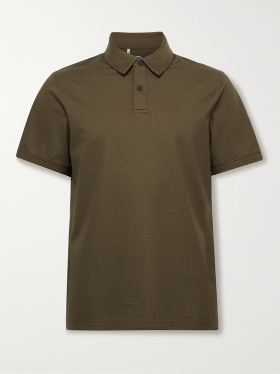 Bogner Timo Cotton-Blend Piqué Golf Polo Shirt