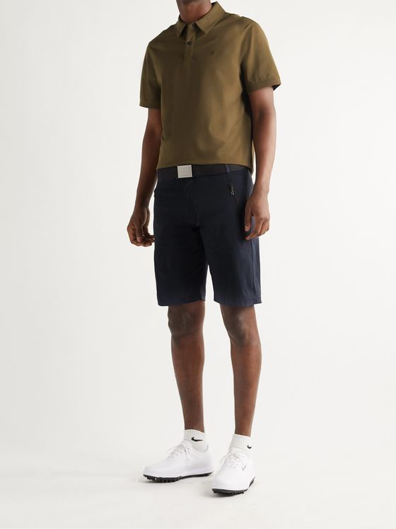 Bogner Colin Slim-Fit Stretch-Shell Golf Shorts