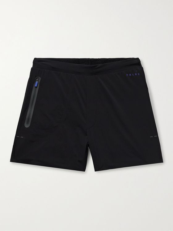 FALKE Ergonomic Sport System Basic Challenger Mesh-Trimmed Stretch-Shell Shorts