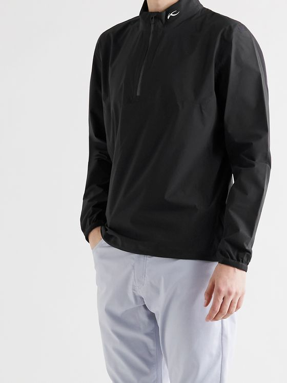 Kjus Golf Dexter 2.5L Shell Half-Zip Golf Jacket