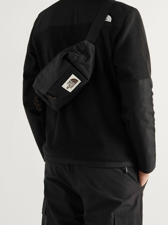 THE NORTH FACE Lumbar Pack Logo-Appliquéd Canvas Belt Bag