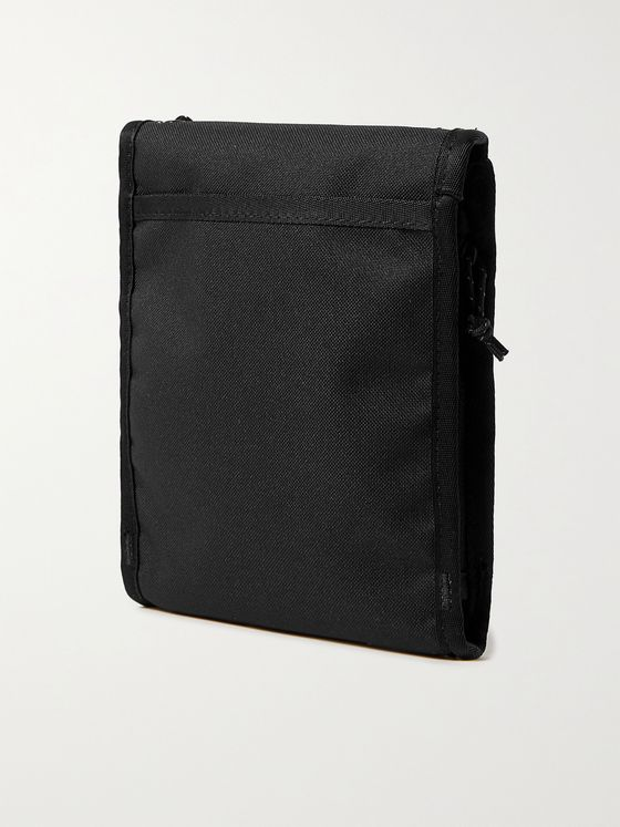 The North Face Bozer Logo-Print Ripstop and Canvas Messenger Bag
