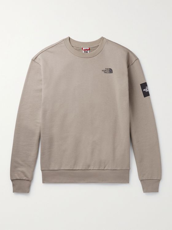 THE NORTH FACE Logo-Detailed Fleece-Back Cotton-Jersey Sweatshirt
