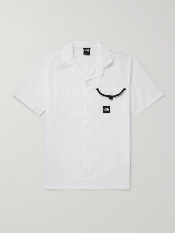 THE NORTH FACE Camp-Collar Contrast-Tipped Cotton Shirt
