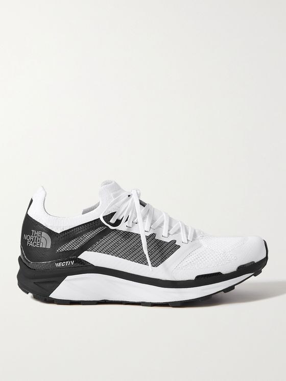 THE NORTH FACE Flight VECTIV Rubber-Trimmed Matryx Running Sneakers