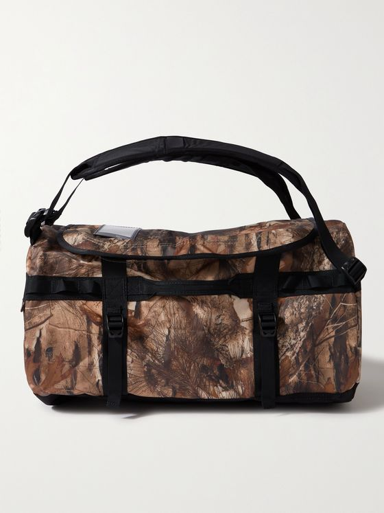 The North Face Base Camp Small Camouflage-Print Coated-Canvas Duffle Bag