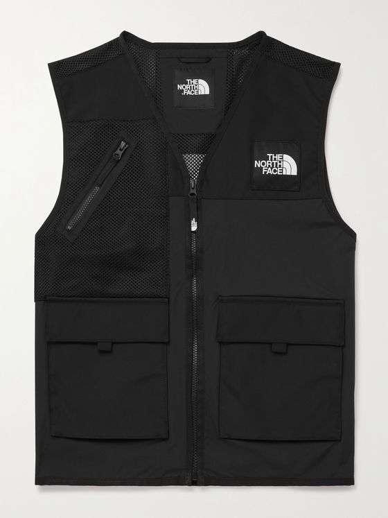 THE NORTH FACE Logo-Appliquéd Mesh-Trimmed DryVent Gilet