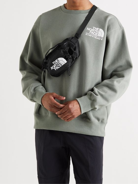 THE NORTH FACE Bozer III Logo-Print DWR-Coated Recycled Shell and CORDURA Nylon-Ripstop Belt Bag