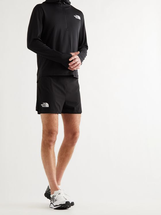 THE NORTH FACE Flight StrideLight 2-in-1 Perforated Stretch-Jersey Shorts