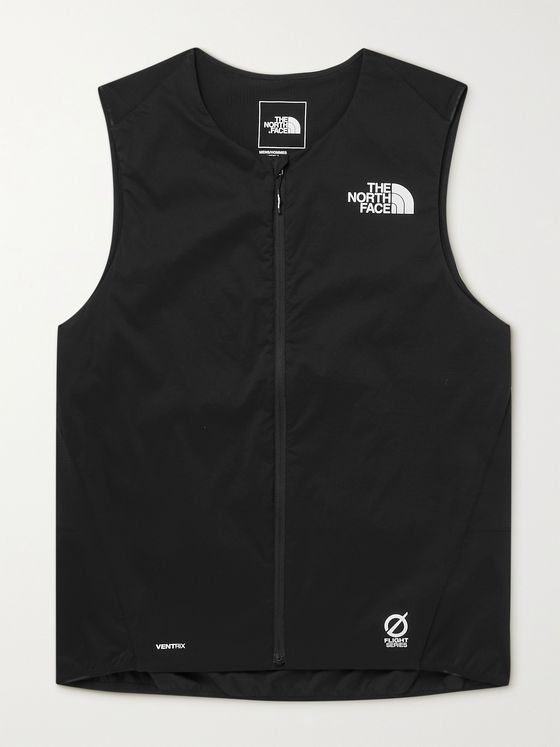 THE NORTH FACE Flight Series Mesh-Panelled Shell Running Gilet