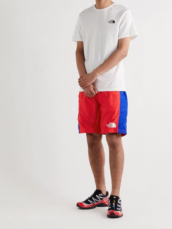 THE NORTH FACE Hydrenaline Colour-Block Recycled Shell Shorts