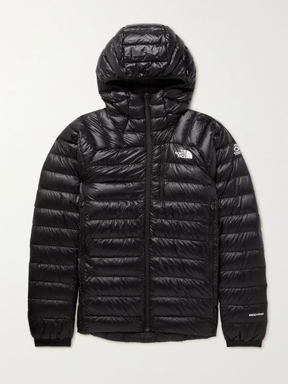 THE NORTH FACE Summit Quilted Nylon-Ripstop Down Hooded Jacket
