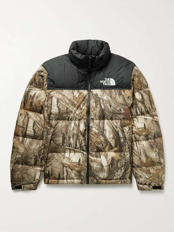 THE NORTH FACE 1996 Retro Nuptse Quilted Printed Shell Down Jacket