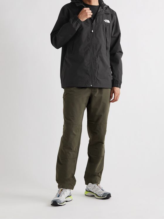 THE NORTH FACE Black Box Logo-Print DryVent Hooded Jacket