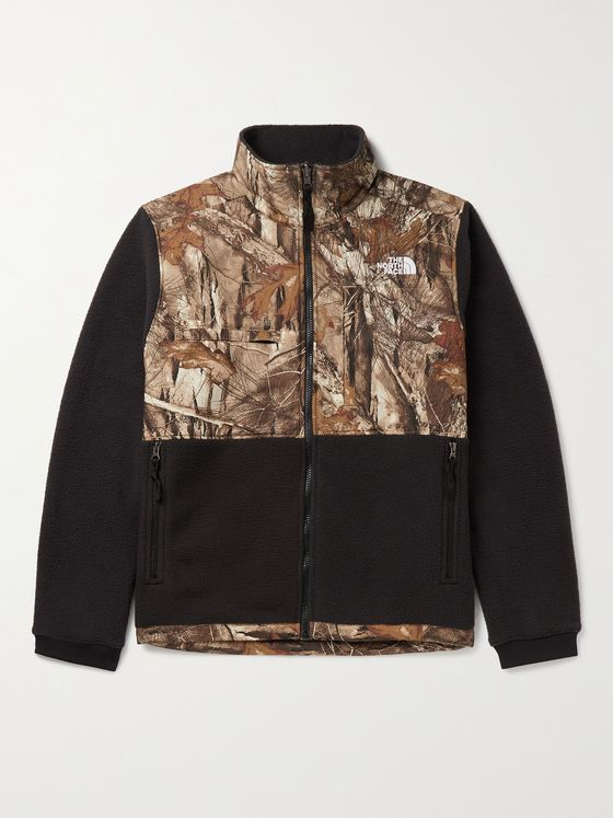 THE NORTH FACE Denali 2 Printed Recycled Shell and Fleece Jacket