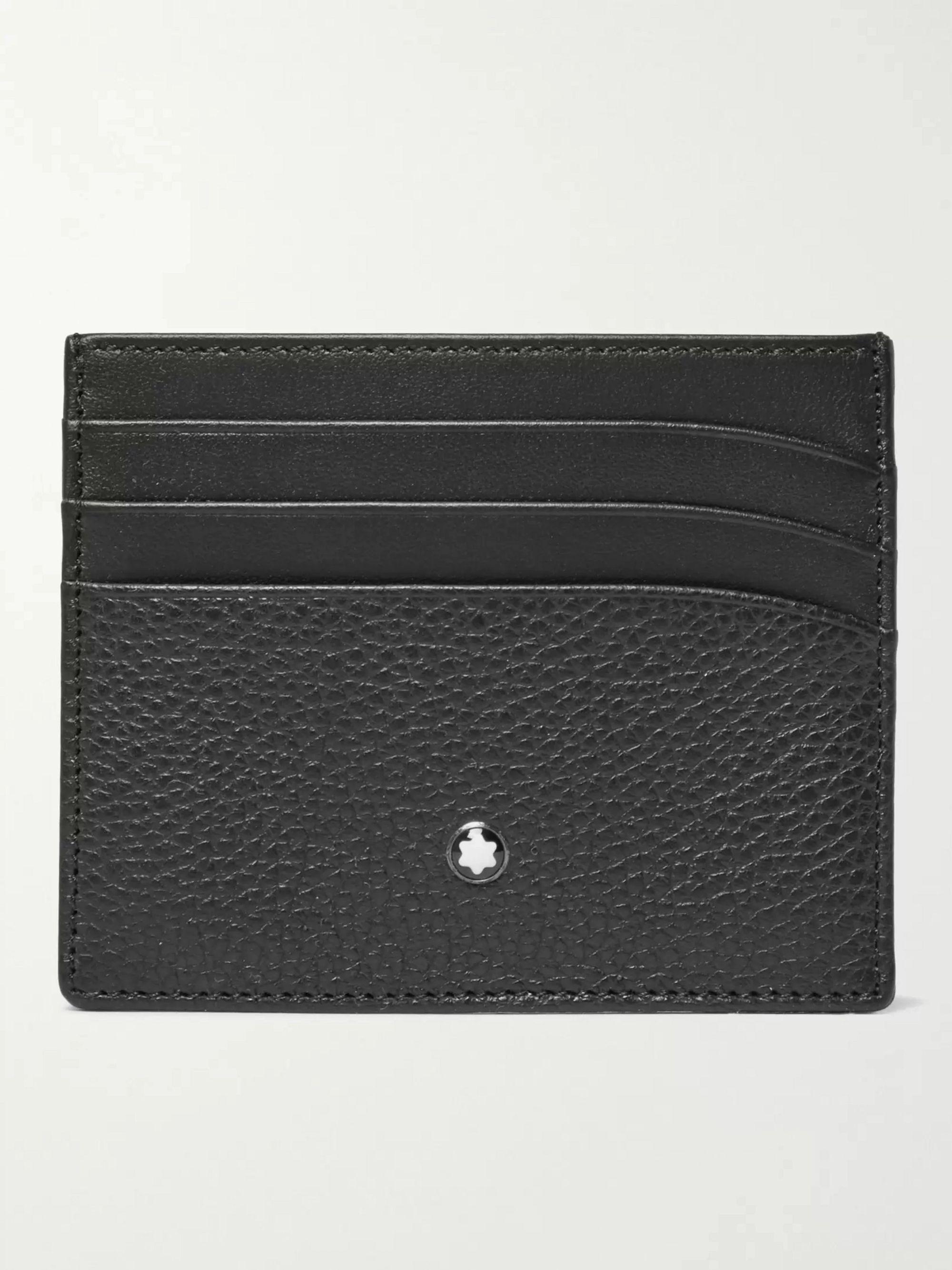몽블랑 카드지갑 Montblanc Leather Cardholder,Black