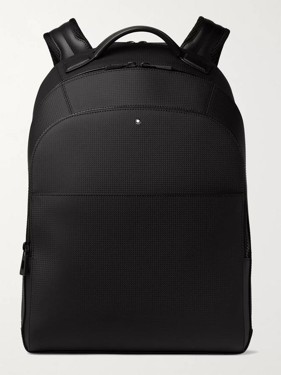 MONTBLANC Extreme 2.0 Large Woven Leather Backpack