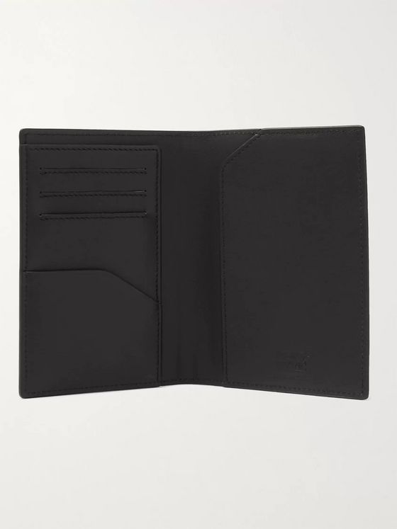 MONTBLANC Printed Leather Passport Cover