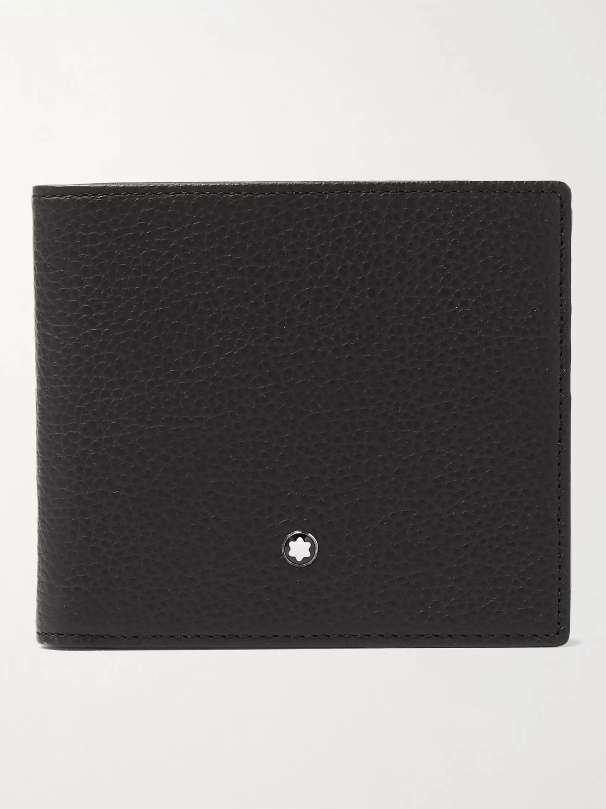 몽블랑 반지갑 Montblanc Full-Grain Leather Billfold Wallet,Black