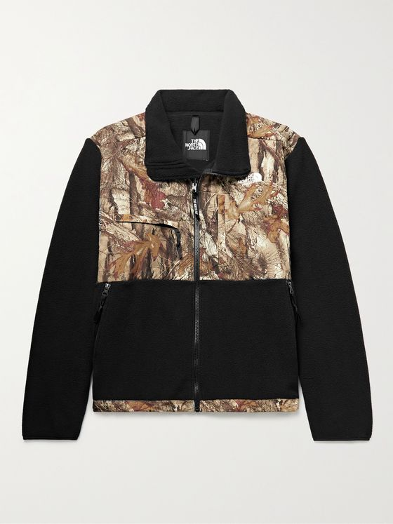 THE NORTH FACE 95 Retro Denali Fleece and Camouflage-Print Shell Jacket