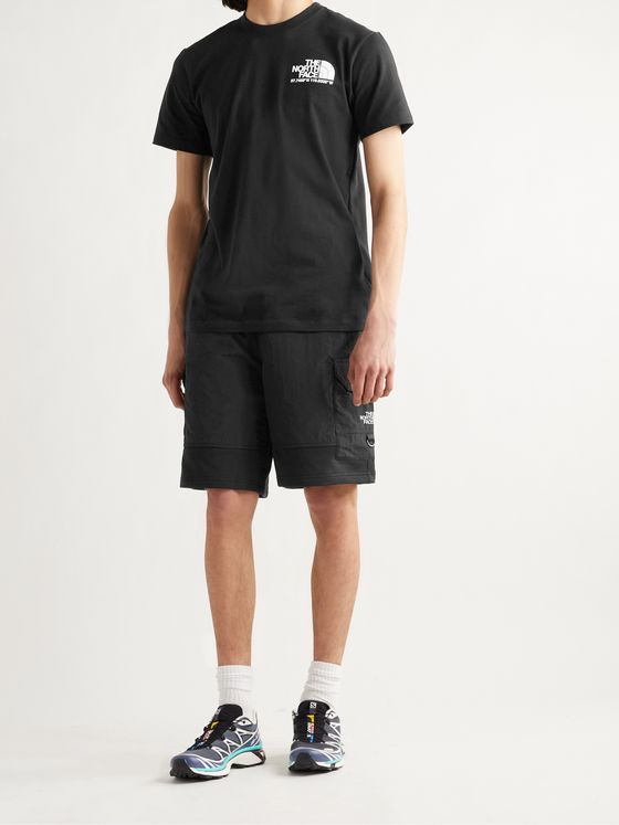 THE NORTH FACE Steep Tech Light Cotton-Blend Jersey and Nylon Shorts