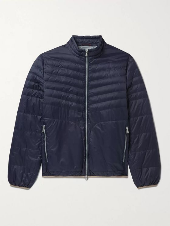 BRUNELLO CUCINELLI Quilted Nylon Down Jacket