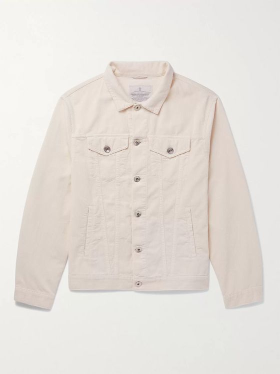 BRUNELLO CUCINELLI Cotton-Corduroy Jacket