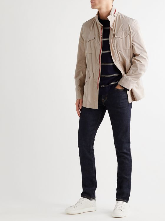 BRUNELLO CUCINELLI Cotton Hooded Field Jacket