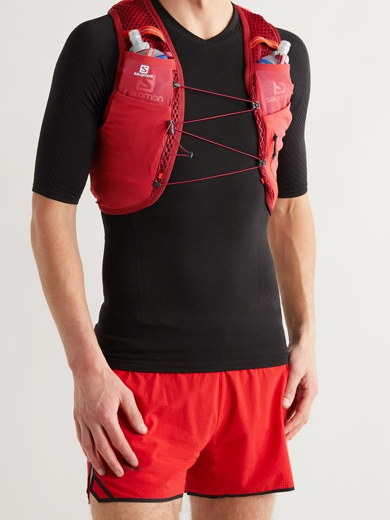 SALOMON Active Skin 4 Set Shell and Mesh Running Vest