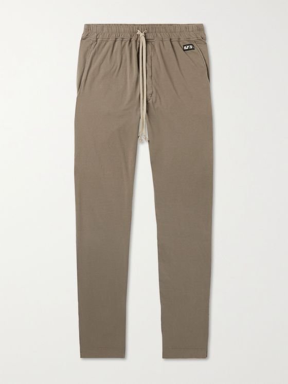 DRKSHDW BY RICK OWENS Berlin Slim-Fit Cotton-Jersey Sweatpants