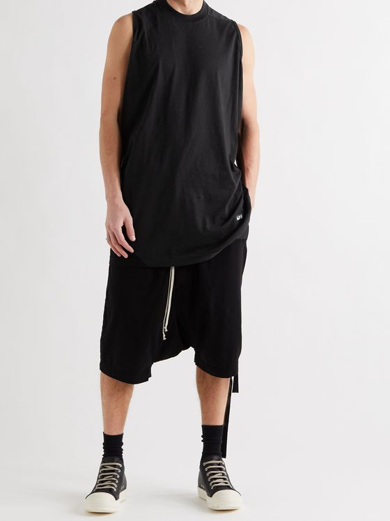 DRKSHDW BY RICK OWENS Cotton-Jersey Tank Top
