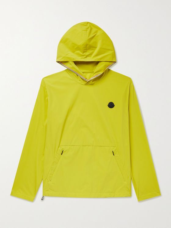 MONCLER Escalle Logo-Appliquéd Tech-Shell Hooded Jacket
