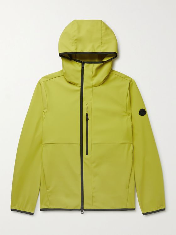 MONCLER Darc Logo-Appliquéd Tech-Shell Hooded Jacket