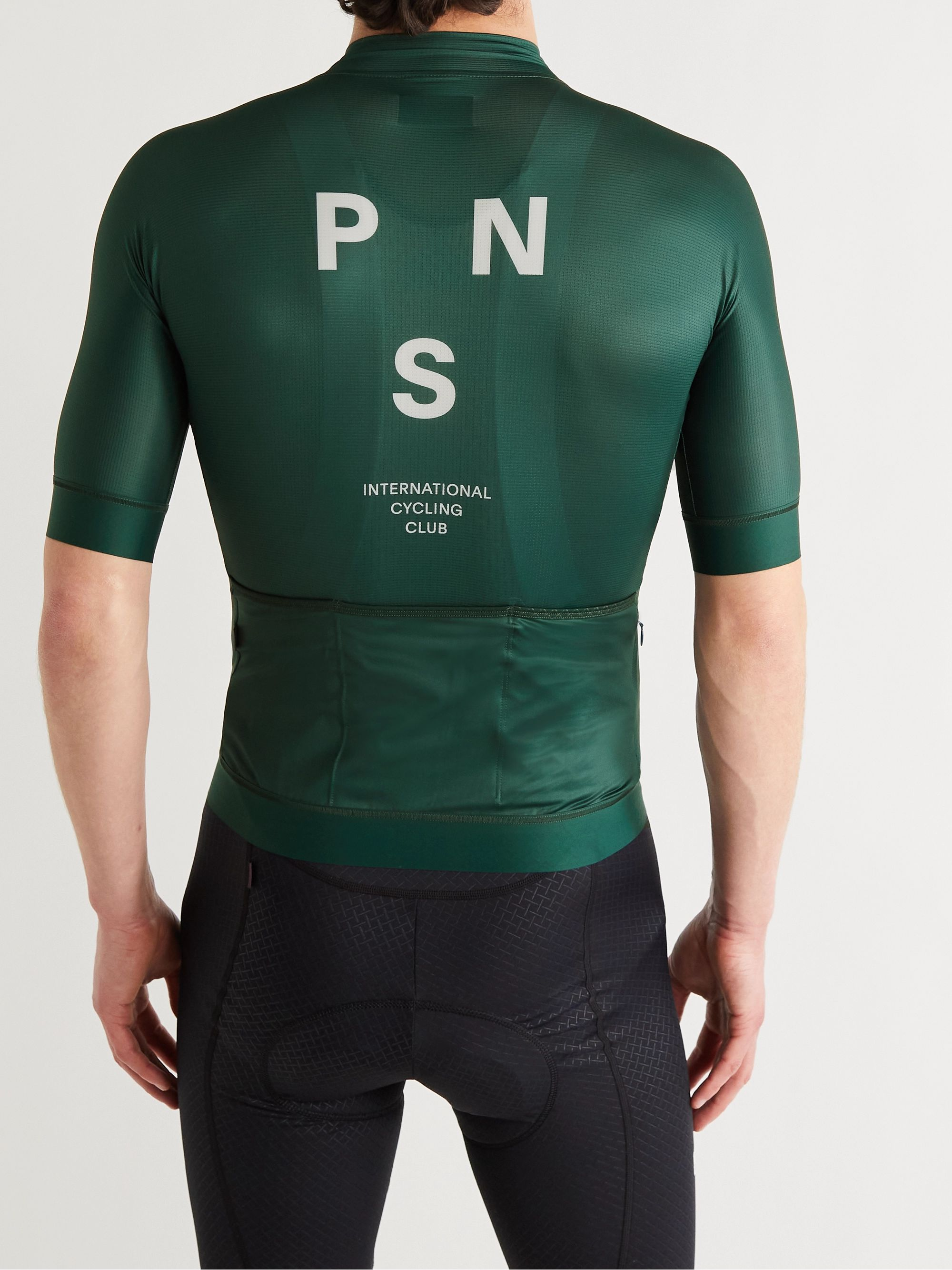 PAS NORMAL STUDIOS Mechanism Logo-Print Cycling Jersey