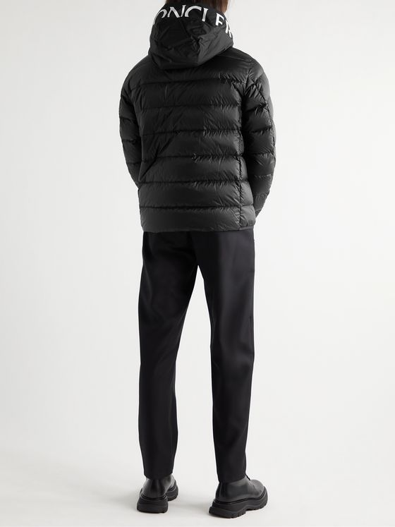 MONCLER Provins Slim-Fit Quilted Shell Hooded Down Jacket