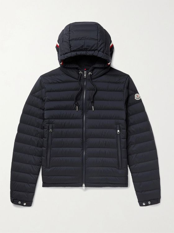 MONCLER Eus Slim-Fit Quilted Nylon Down Hooded Jacket