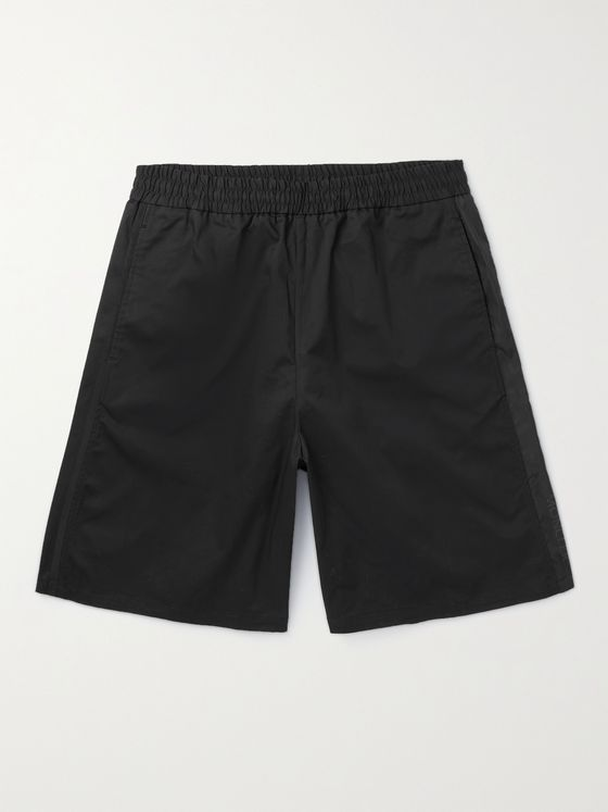 MONCLER Stretch-Cotton Twill Shorts