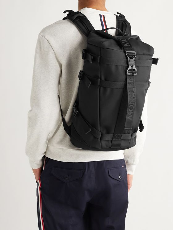 MONCLER Argens Grosgrain-Trimmed Nylon-Ripstop Backpack