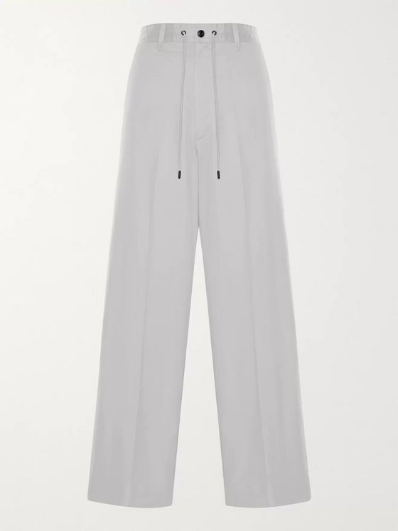 MONCLER GENIUS 2 Moncler 1952 Cotton-Shell Drawstring Trousers
