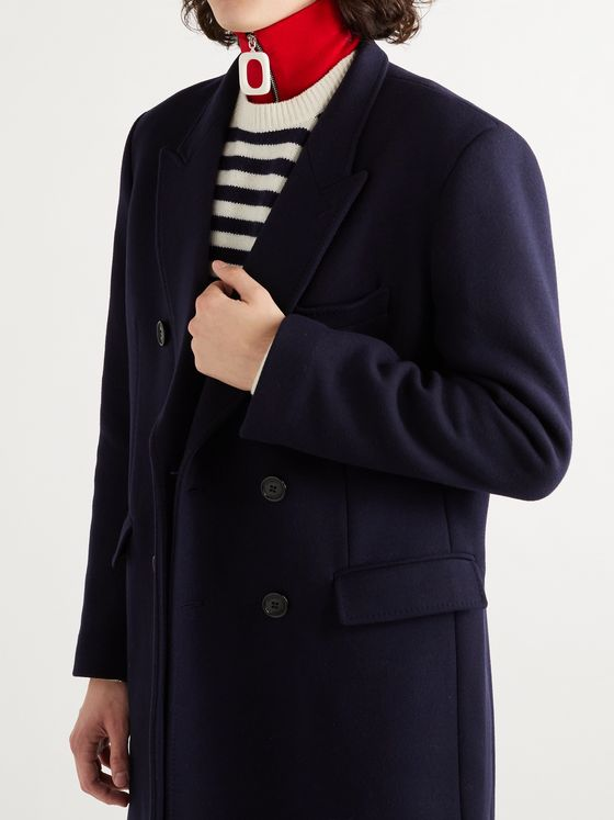 JW ANDERSON Merino Wool Zip-Up Snood