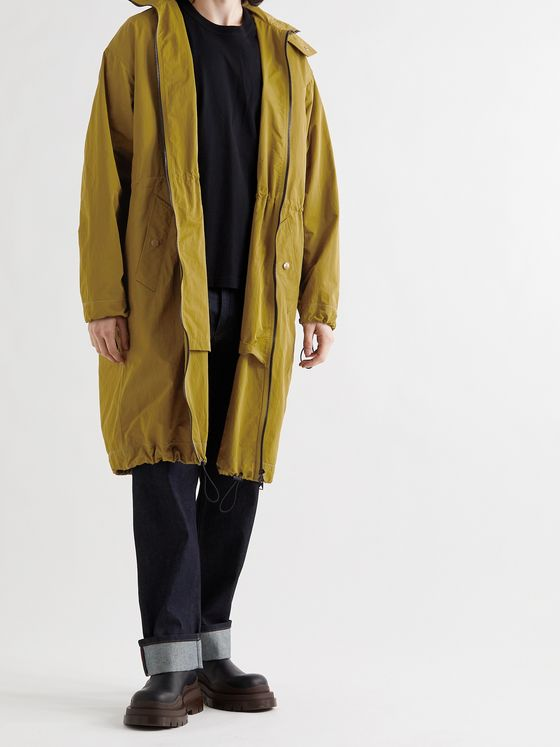 BOTTEGA VENETA Tech-Nylon Hooded Parka