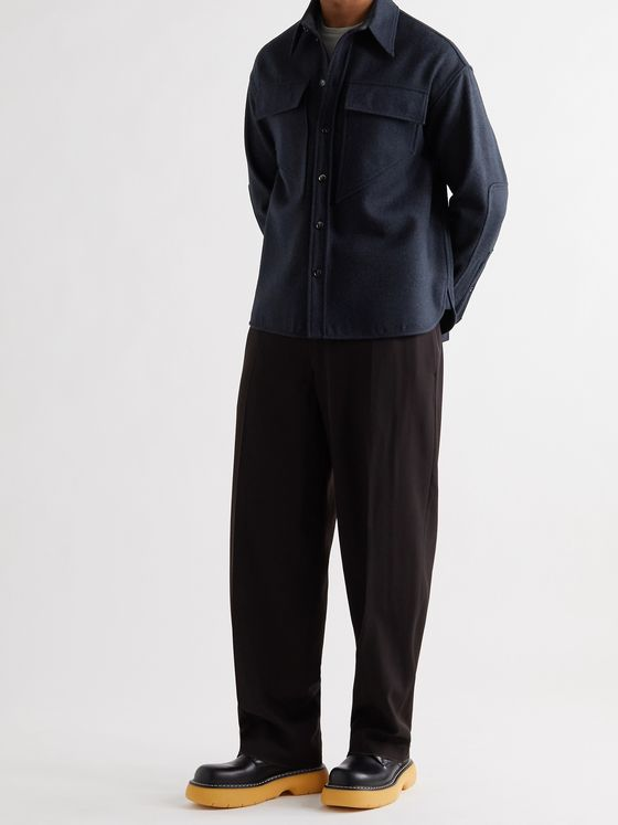 BOTTEGA VENETA Wool-Felt Overshirt