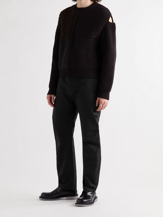 BOTTEGA VENETA Tapered Cotton Trousers