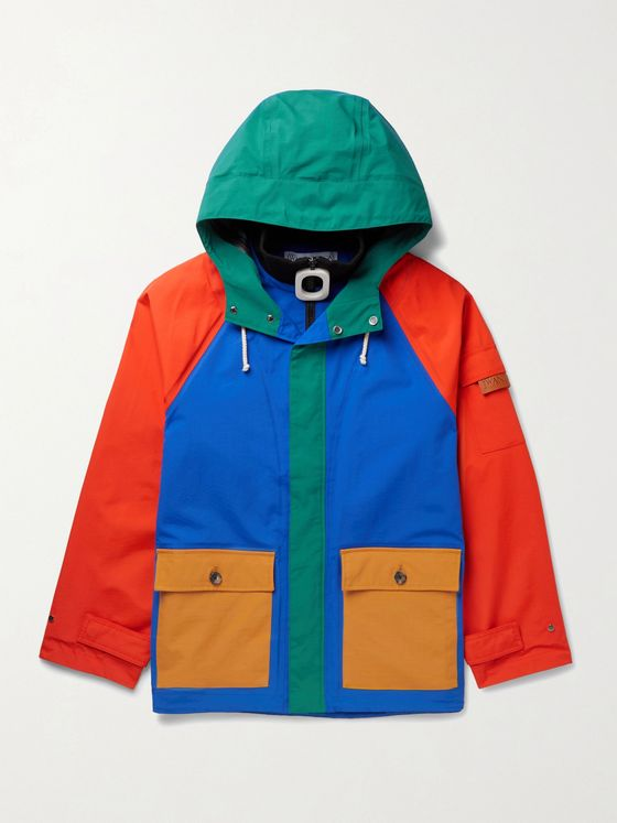JW ANDERSON Colour-Block Nylon Hooded Jacket